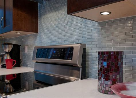 light blue kitchen backsplash clear light blue glass kitchen backsplash kitchen new york by fiorano tile showrooms