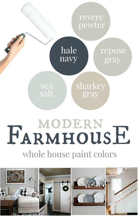 Our house: Modern Farmhouse Paint Colors   Christinas