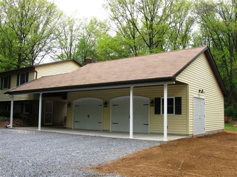 Shed Attached To Garage by Attached Garages Traditional Shed Philadelphia By Eppinette Construction Llc