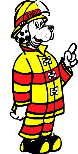 Sparky Fire Department Clip Art