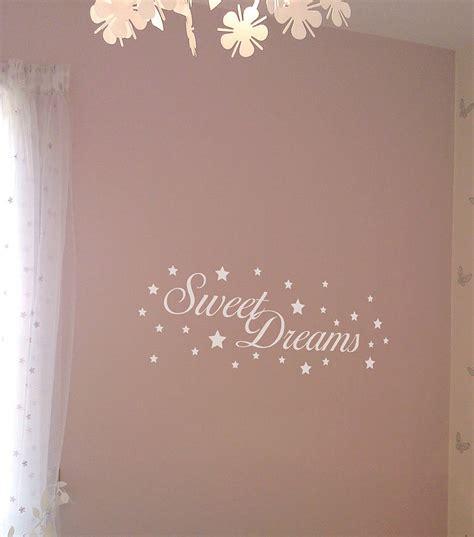 sweet dreams wall stickers sweet dreams wall stickers by nutmeg notonthehighstreet