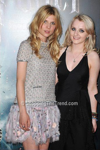 Harry Potter Premiere Watson In Chanel Couture by Clemence Poesy In Chanel Couture Premiere Of