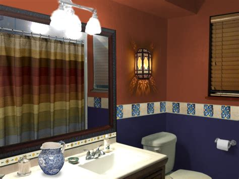 terracotta bathroom accessories painting a small space bold mochi home mochi home