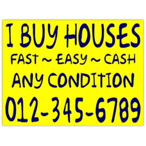 i buy houses signs i buy houses handwritten signs for investors