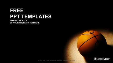basket ball sports powerpoint templates