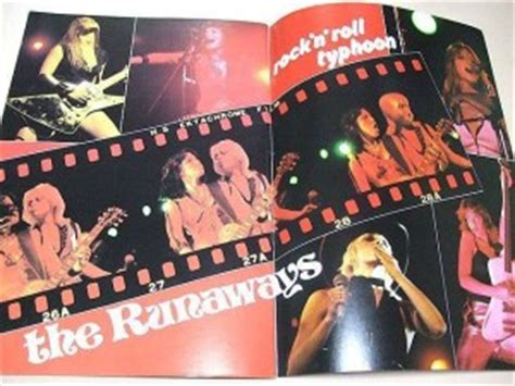 503329 the runaways kive in japan the gallery for gt queens of noise book
