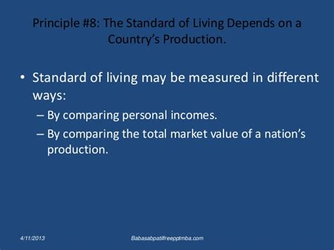 Mba Ppt On Inflation by Ten Principles Of Economics Ppt Mba