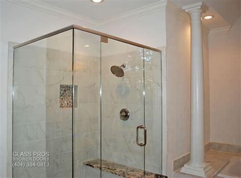 Semi Frameless Glass Shower Enclosures Framed Doors Custom Framed Vs Frameless Shower Doors