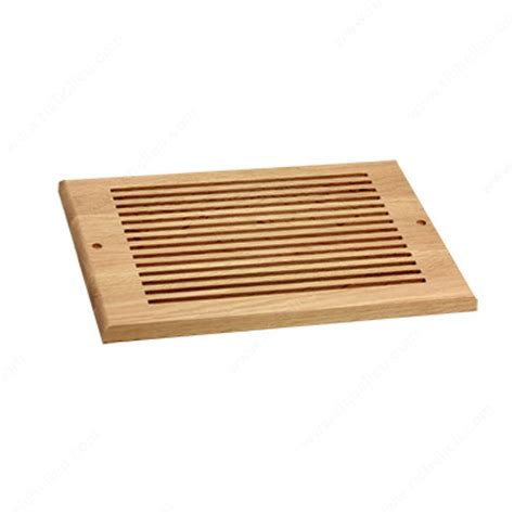 Decorative Floor Vents by Wall Air Vent Wood Rw81225 Richelieu Hardware