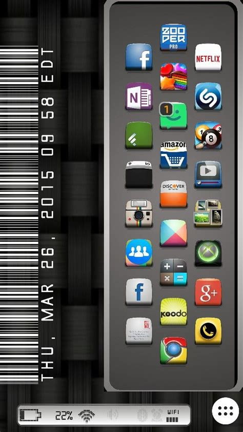 buzz launcher full version apk nova launcher 7x11 grid zooper widgets android setups