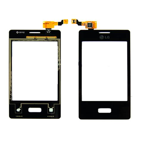 Touch L by Lg Optimus L3 E400 Digitizer Touch Screen Black