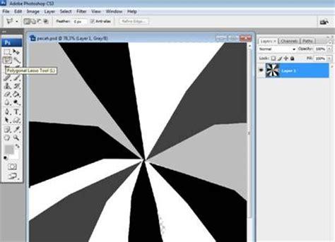 belajar desain animasi membuat foto efek kaca pecah