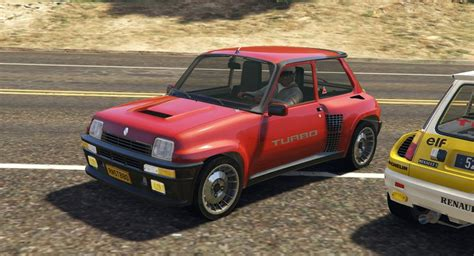 gta 5 renault 5 turbo rally 2in1 add on tuning
