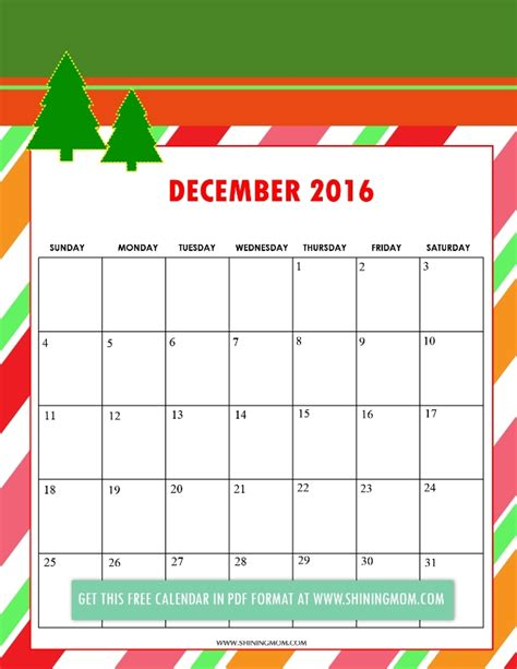 cute printable planner 2016 pdf december 2016 calendar cute weekly calendar template