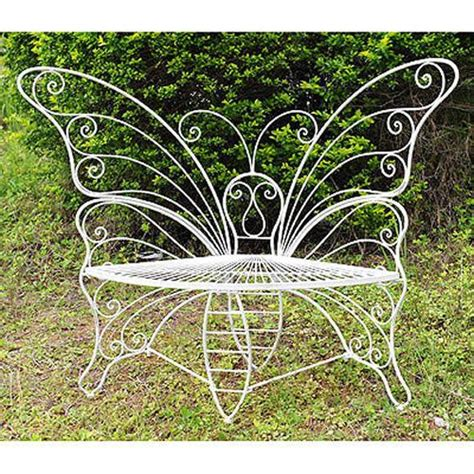 metal butterfly bench metal butterfly garden bench d33815