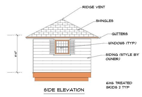 12x12 Hip Roof Plans 12 215 12 Hip Roof Shed Plans Blueprints For Crafting A