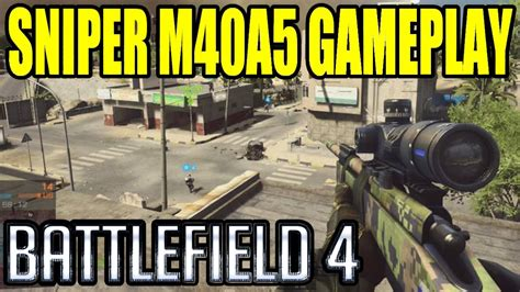 Tshirt Sniper M40a5 battlefield 4 m40a5 sniping multiplayer gameplay quot second