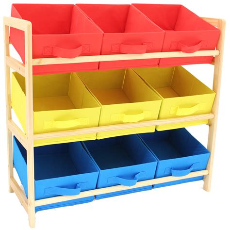 kids storage hartleys 3 tier storage shelf unit kids childrens bedroom