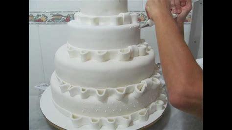 como decorar bolo efeito cesta bolo do casamento youtube