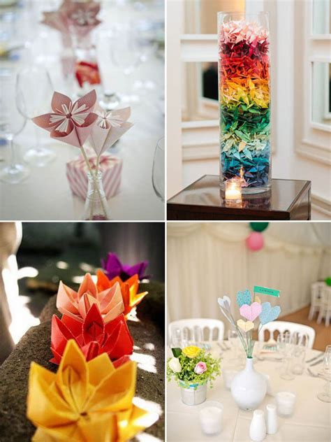 origami wedding centerpieces matrimonio a tema origami wedding centerpieces origami