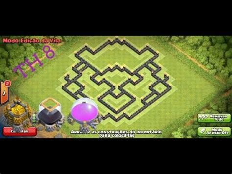 layout cv 8 farming youtube clash of clans layout cv 8 farm youtube