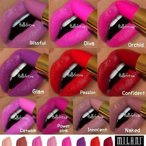 stacey lovely matte lipcolor 033 17 best images about milani make up on