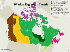 1 canadian regional geography your canada physical
