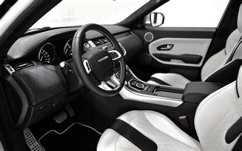 Black Range Rover White Interior by Tuning Company Startech Prepares Styling Kit For Range