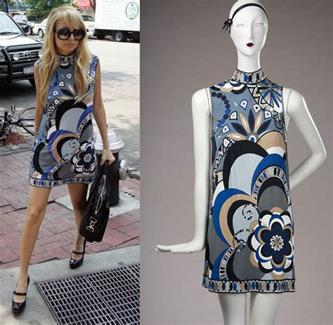Who Wore It Better Chanel Willy Wonka Sunnies by Found S Psychedelic Maternity Dress Popsugar Fashion