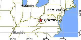 us area code 353 ridgeview west virginia wv population data races