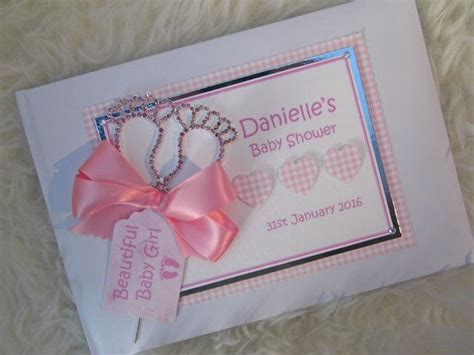 Baby Shower Guess Book by Personalised Baby Shower Guest Book