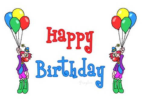 Animated Happy Birthday Wishes 4 U Emoticons Animated Gifs Collections Animated Happy
