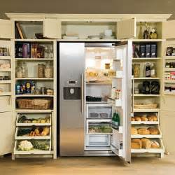 Kitchen Cabinet Storage Ideas by Larder With Fridge Freezer From Neptune Kitchen Storage
