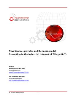 Research Paper On Service Provider by New Service Provider And Business Model Disruption In The