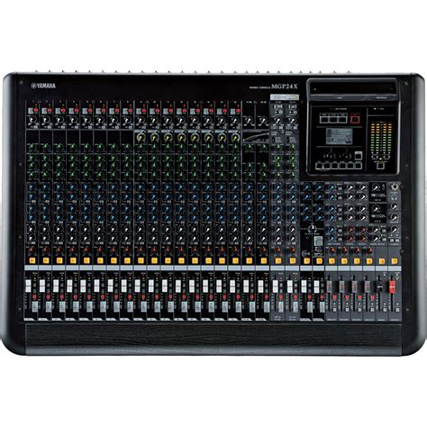 console mixer yamaha mgp24x 24 channel analog mixing console with dsp mgp24x