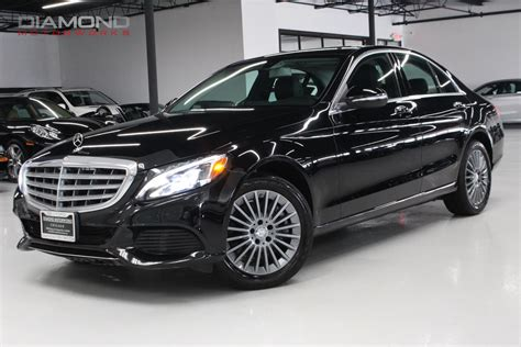 used mercedes c class used 2015 mercedes c class c 300 4matic lisle il