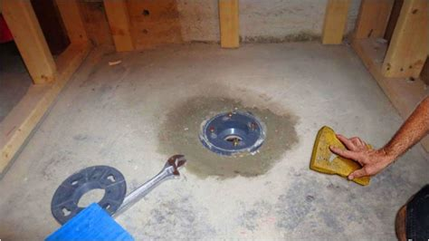 how to install a shower pan 10 steps with pictures wikihow