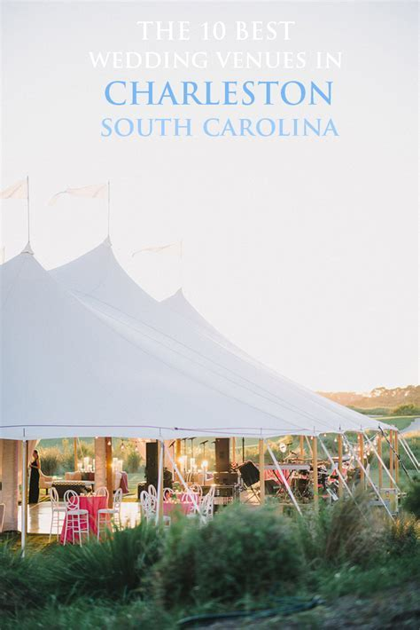The 10 Best Charleston Wedding Venues