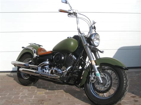 Motorrad Chopper Sportlich yamaha xvs650 armyape modellnews