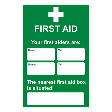 aid poster template your aiders are nearest aid box justgloves