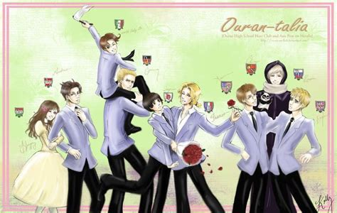 host axis hetalia ouran the ouran high school host club and axis