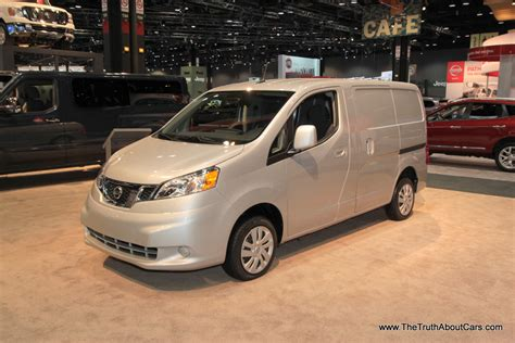 nissan work van chicago auto show 2014 nissan nv200 the truth about cars