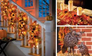 Home Decorations Catalog fall decorating ideas sunflower home decor collection