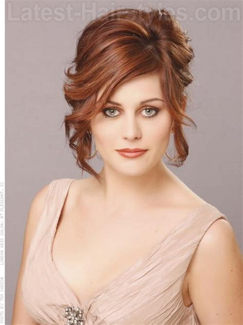 medium length hairstyles for evening prom hairstyles for shoulder length hair