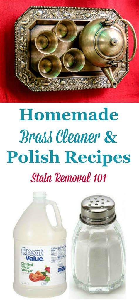 brass cleaner diy brass cleaner recipes