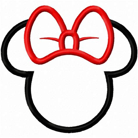 mickey mouse silhouette template mickey mouse ears template cliparts co