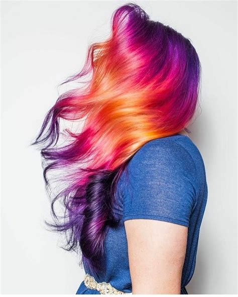bright color hair dye 25 best ideas about bright hair colors on