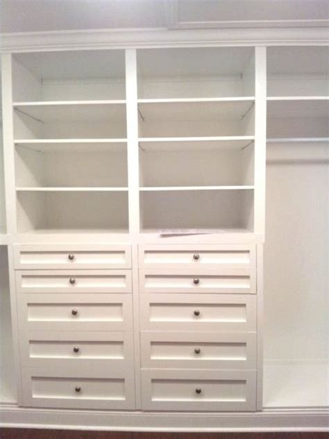 Where To Buy Drawers For Closets Best 25 Closet Built Ins Ideas On Master