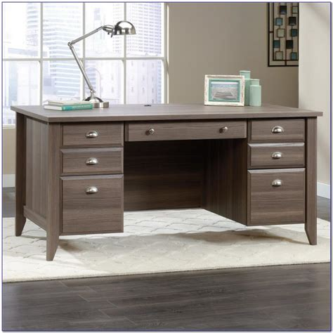 sauder shoal creek computer desk sauder shoal creek computer desk jamocha wood desk