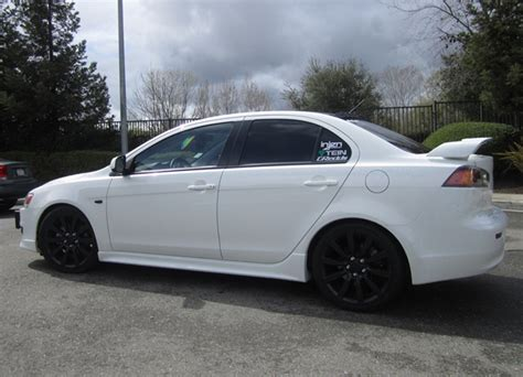 2008 mitsubishi lancer gts performance parts 2008 mitsubishi lancer dimensions gts look lip